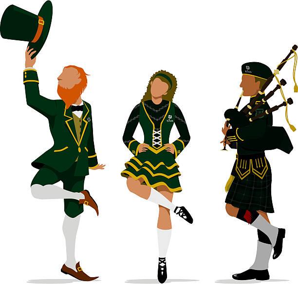 Irish Dancing Clipart.