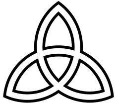 Trinity Knot Clipart #1.