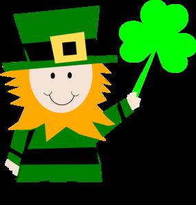 Irish Man Celebrating St Patricks Day Clip Art At Clker Com Vector.