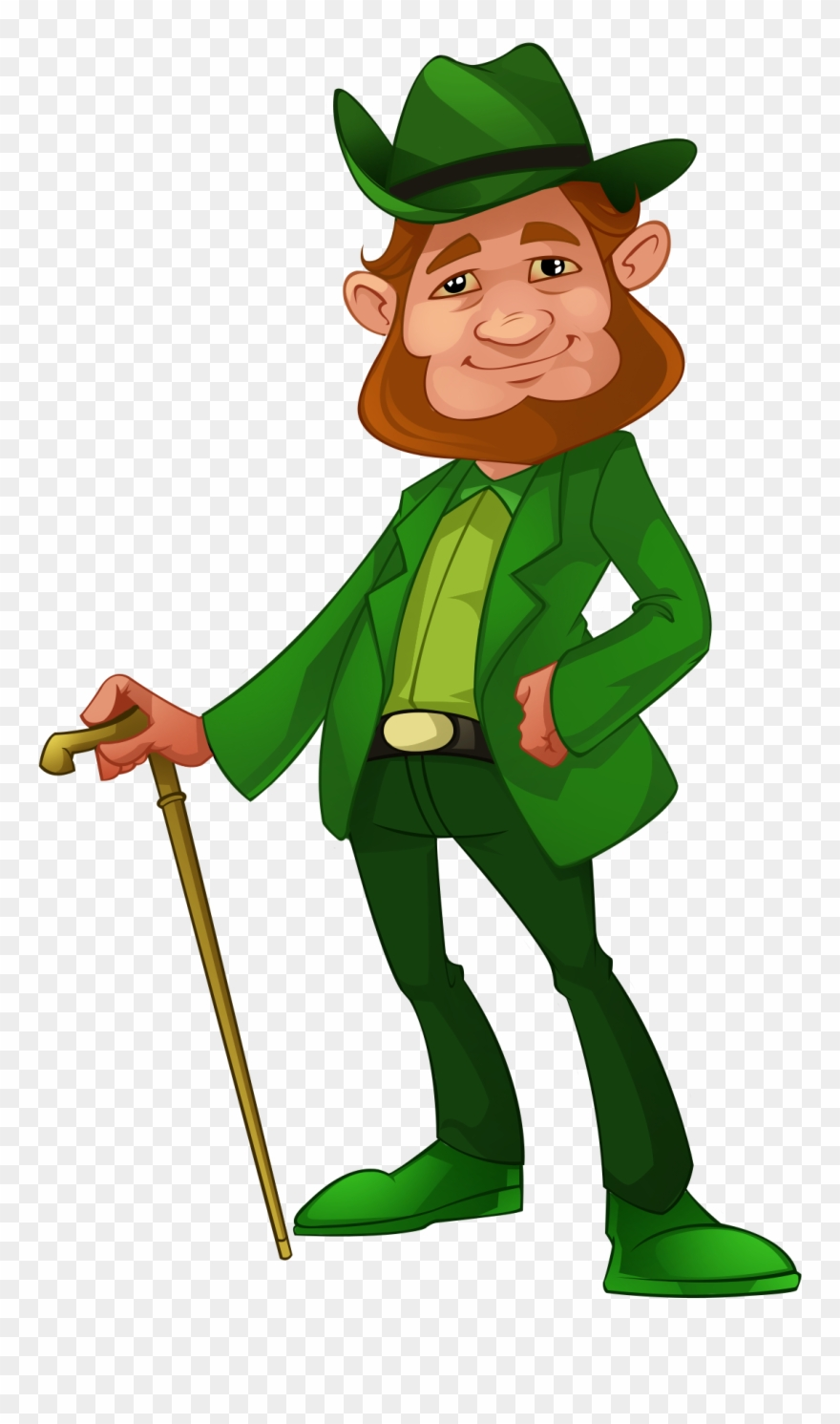 Irish Man Walking Apparel Clipart (#2434456).