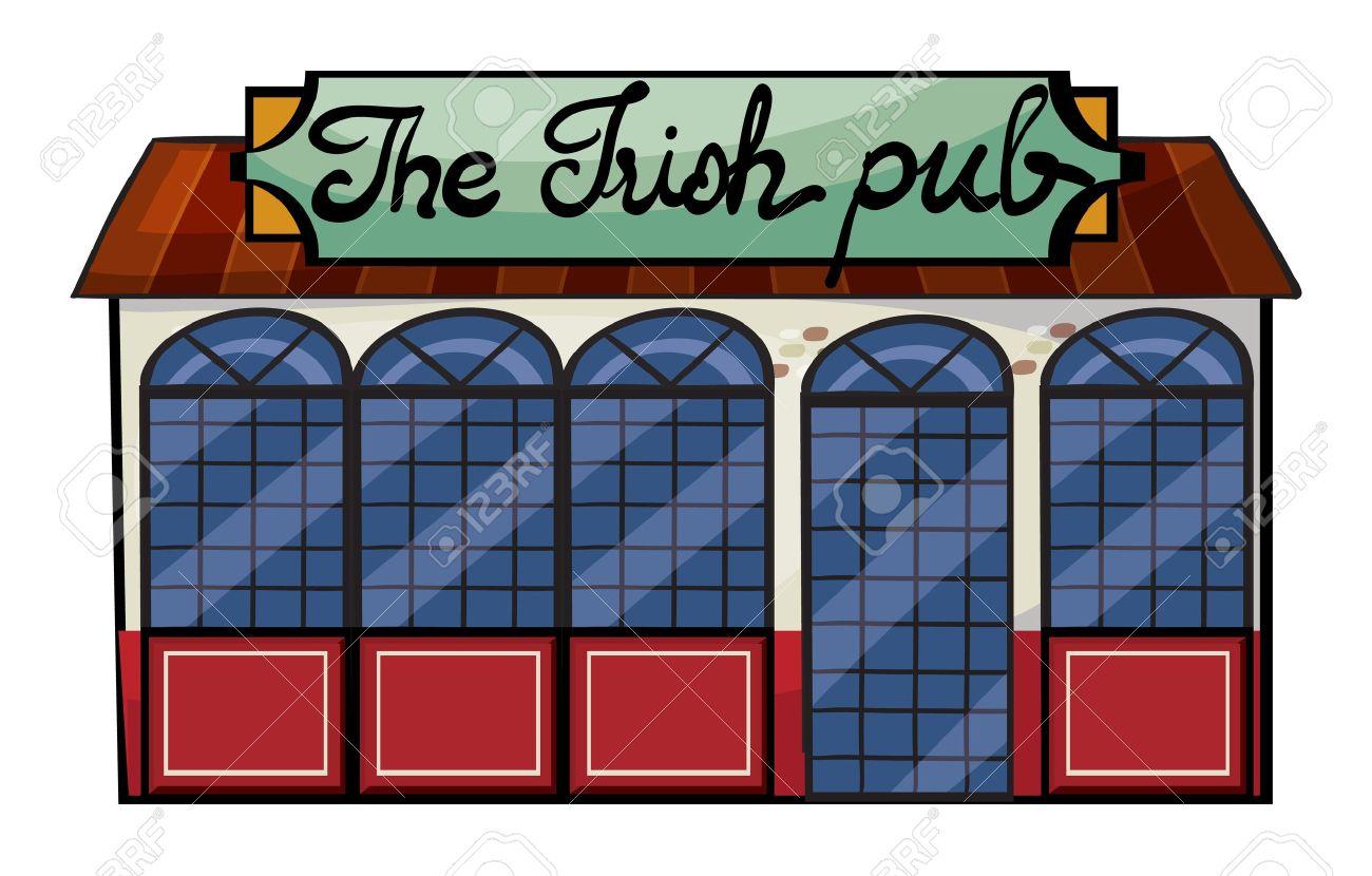 Free irish pub clipart.
