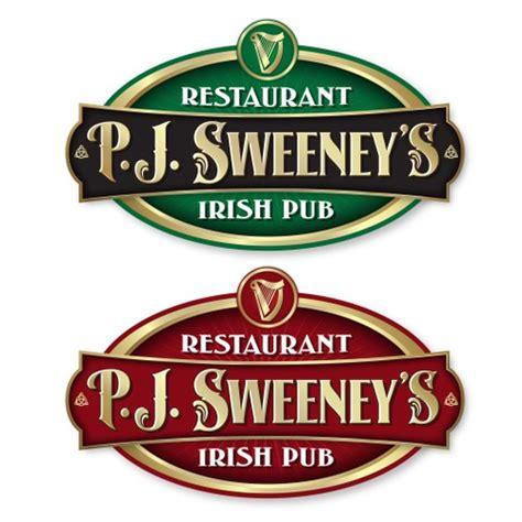 Irish pub Logos.