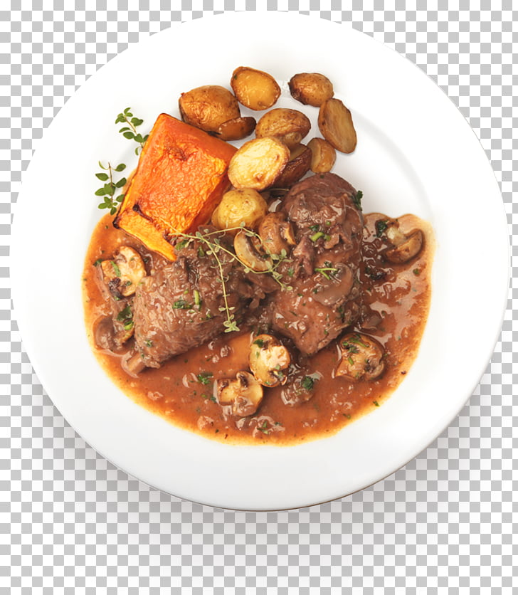 Daube Gravy Pot roast Irish stew Turkey meat, Prato Comida.