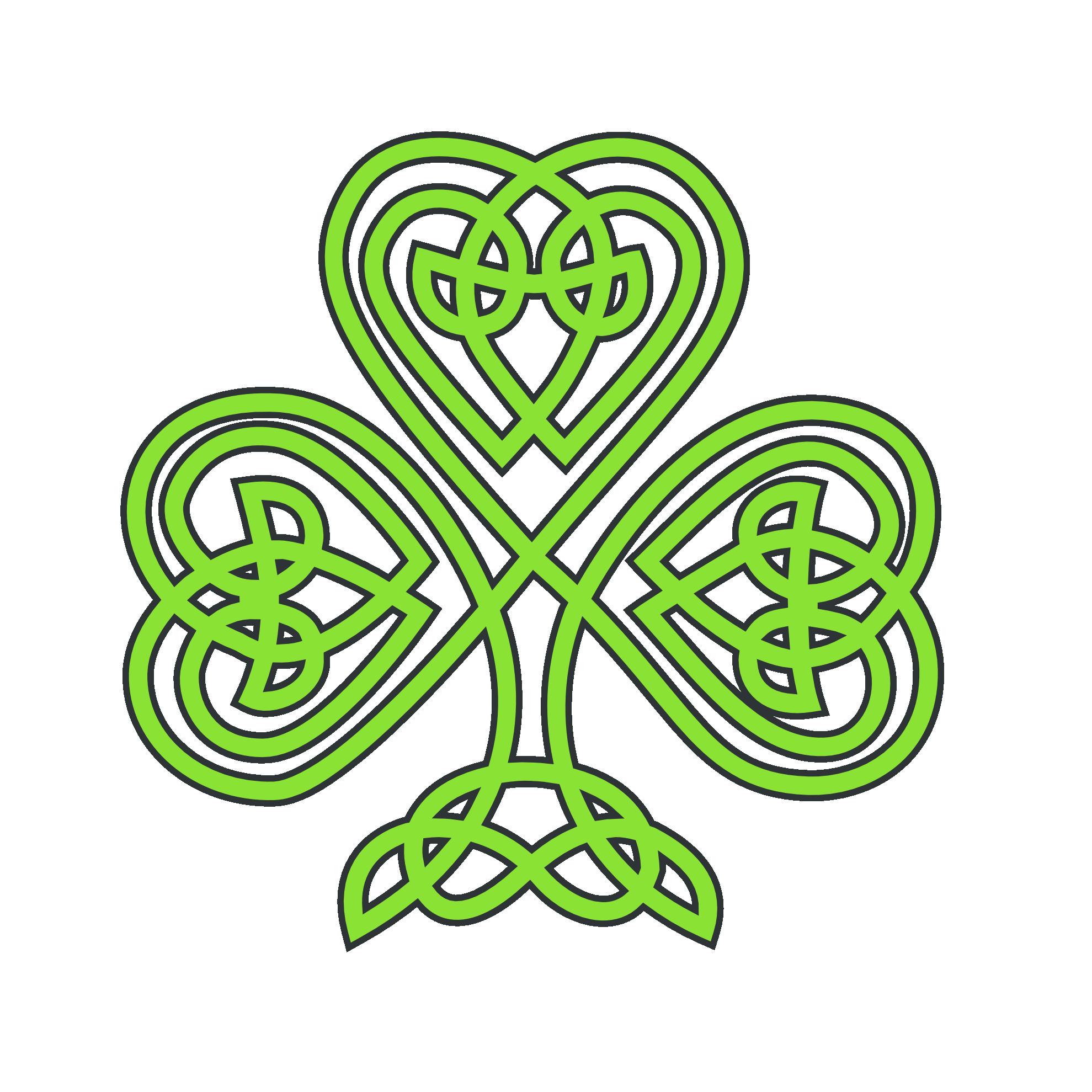 Irish Symbols Clipart.
