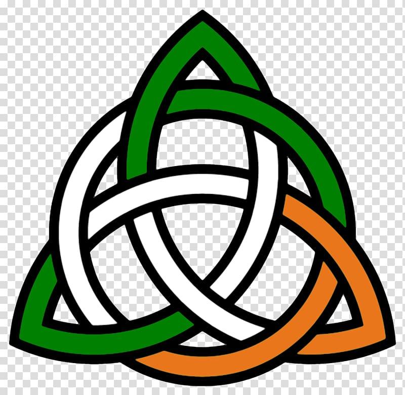 Celtic knot Trinity Irish people , Trinity Cross transparent.