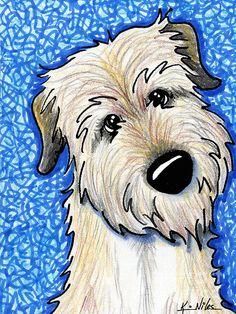Irish Wolfhound Rescue Dogs.