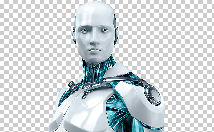 Robot Close Up, iRobot movie character PNG clipart.