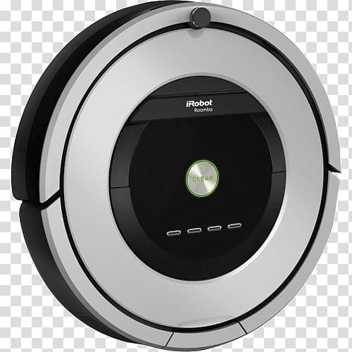 IRobot Roomba 886 Robotic vacuum cleaner, robot transparent.