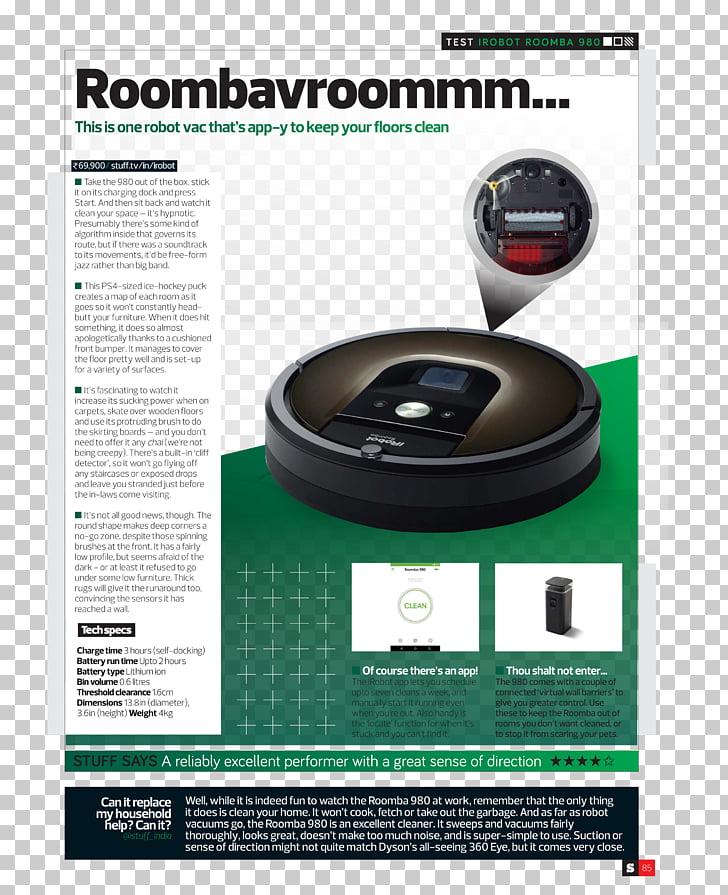 IRobot Roomba 980 iRobot Roomba 980 Robotic vacuum cleaner.