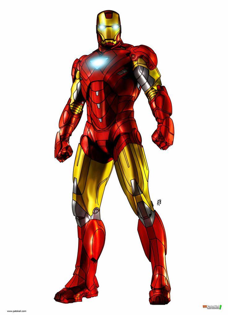 Iron Man Clipart Free.