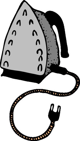 Clip Art Hot Iron Clipart.