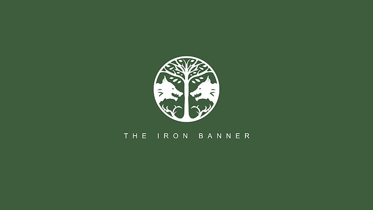 HD wallpaper: The Iron Banner logo, Destiny (video game.