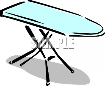 Ironing board clipart 1 » Clipart Station.