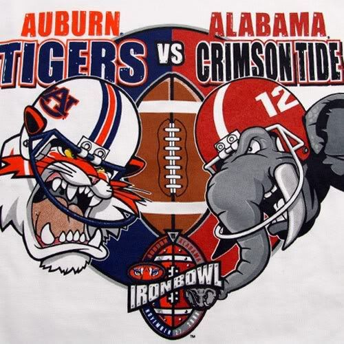 The 81st installment of the Iron Bowl between the Alabama.