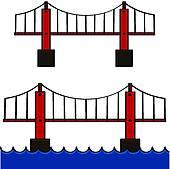 Iron Bridge Clip Art.