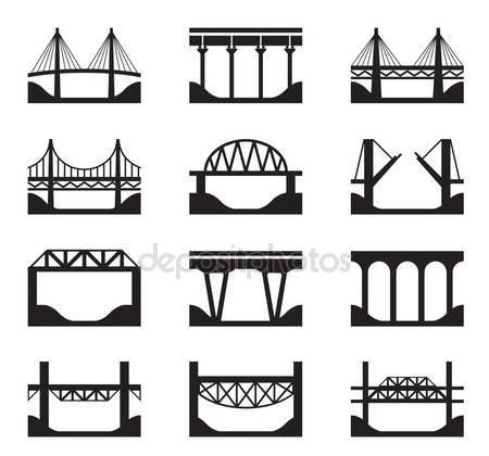 Iron bridge Stock Vectors, Royalty Free Iron bridge Illustrations.