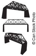 Iron bridge Vector Clipart EPS Images. 123 Iron bridge clip art.