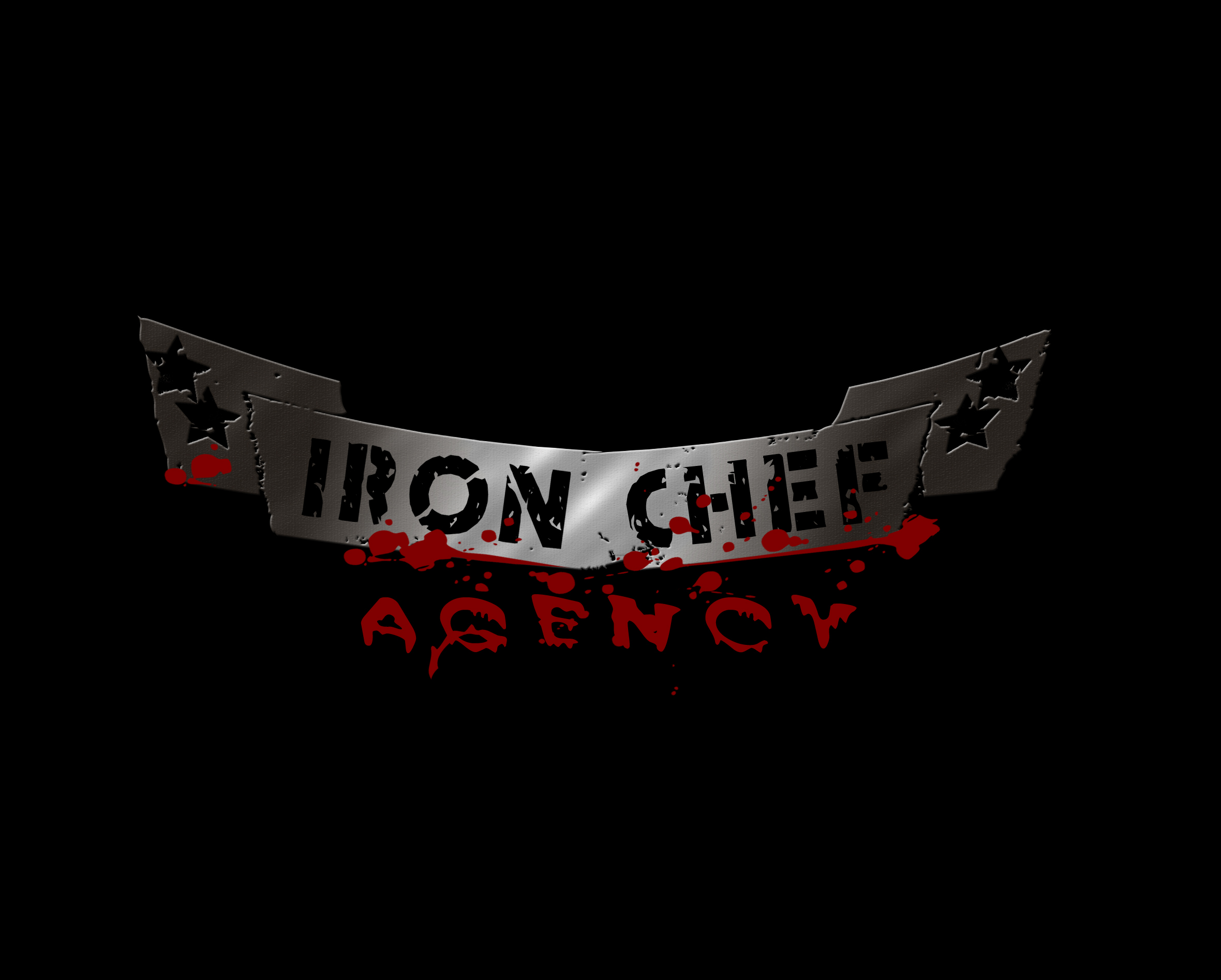 New Iron Chef logo.