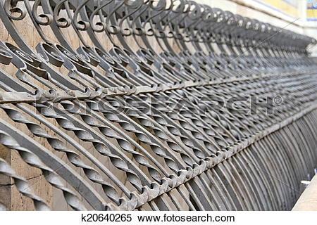 Stock Image of Iron City Forged k20640265.