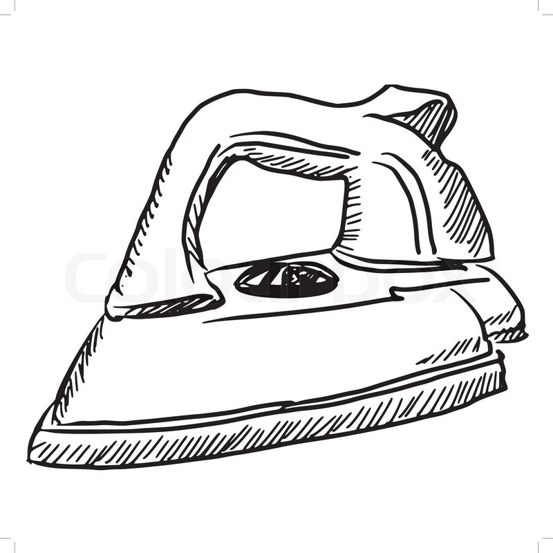 Iron clipart black and white 7 » Clipart Station.