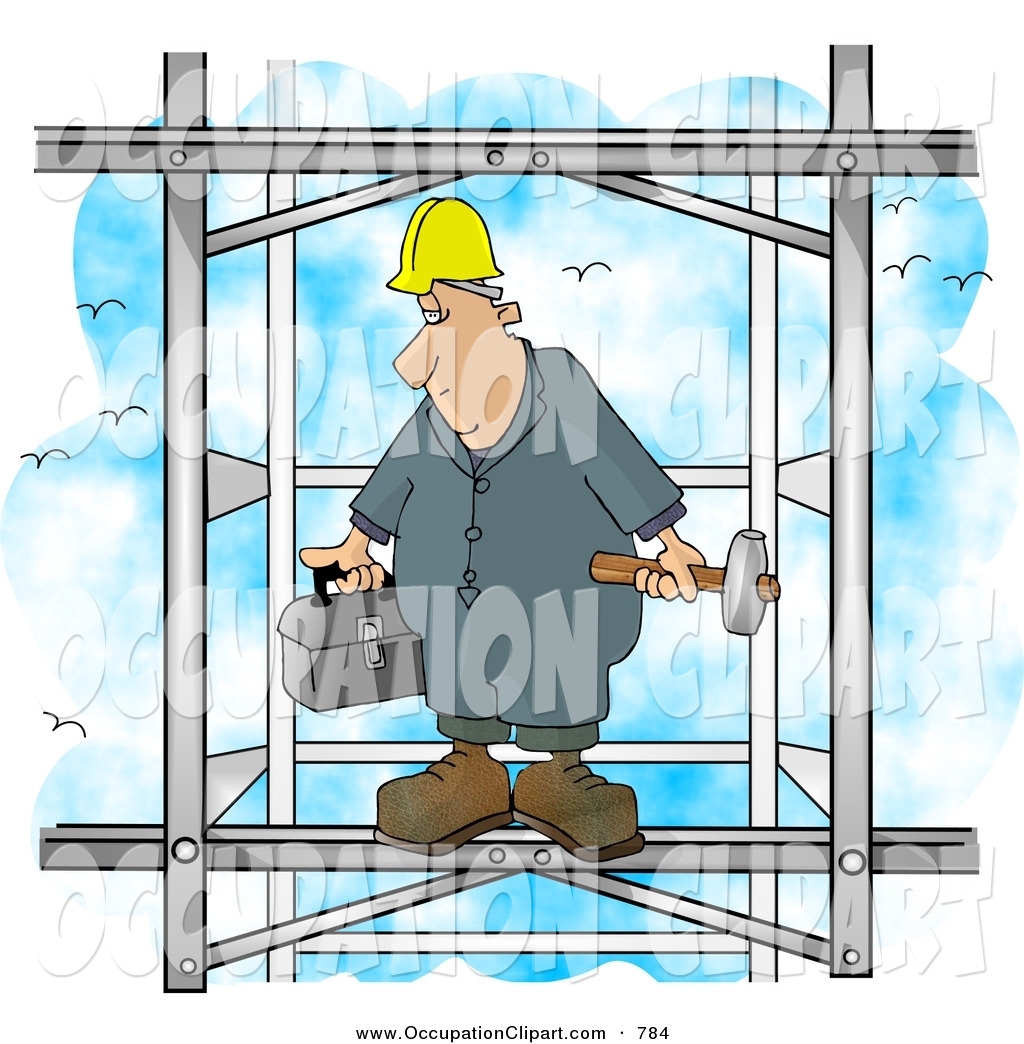 Royalty Free Construction Worker Stock Occupation Designs.
