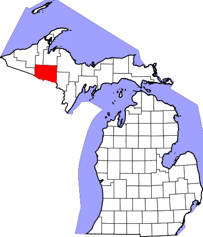 Iron County, Michigan.