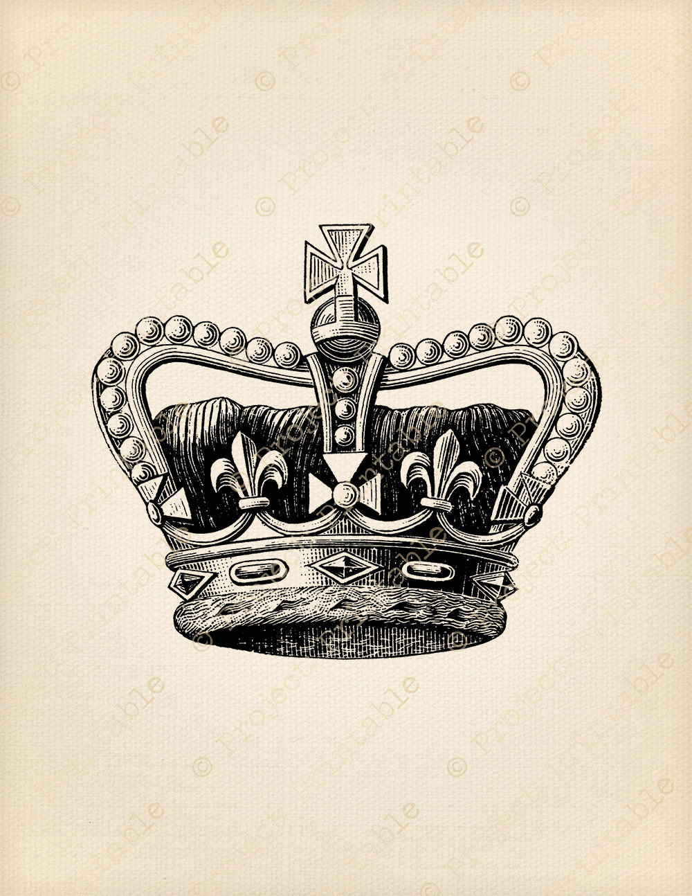 Royal crown clipart.