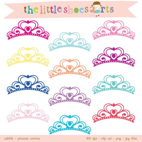 Digital Princess Crown Clipart Digital Clipart, Digital Clip art.