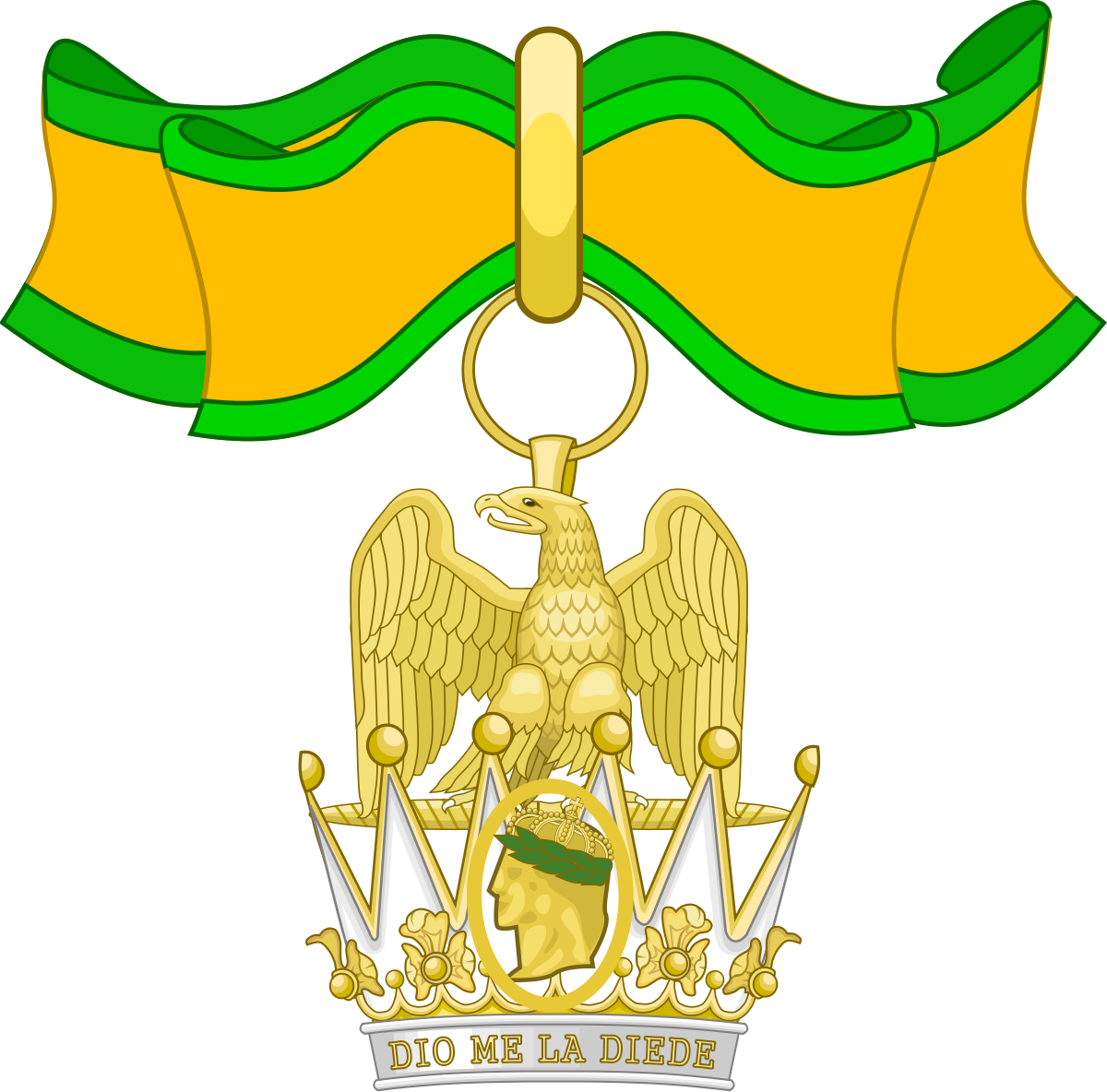 Order of the Iron Crown.