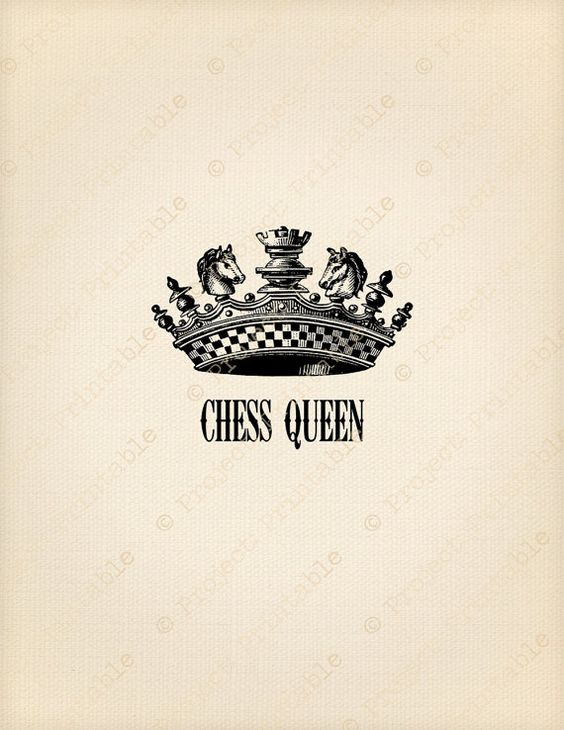 Chess Queen Crown clipart.