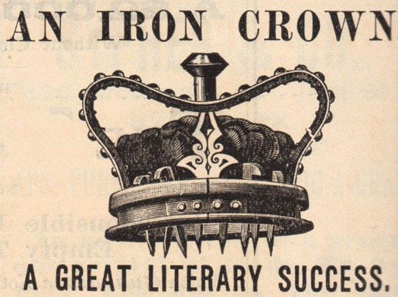 Black & White Clip Art Crown.