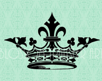 printable crown clipart.
