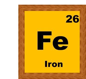 Iron Element Clipart.