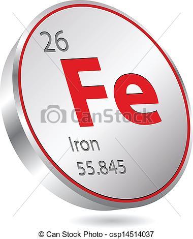 iron element.