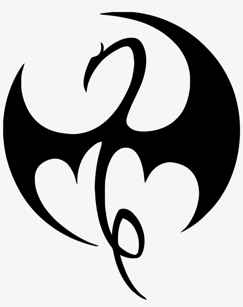 Marvel's Iron Fist Logo Png Transparent.