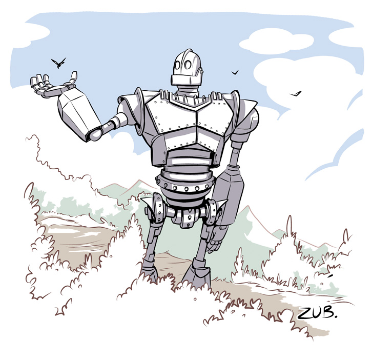 Iron Giant Commemorative by Zubby on DeviantArt.