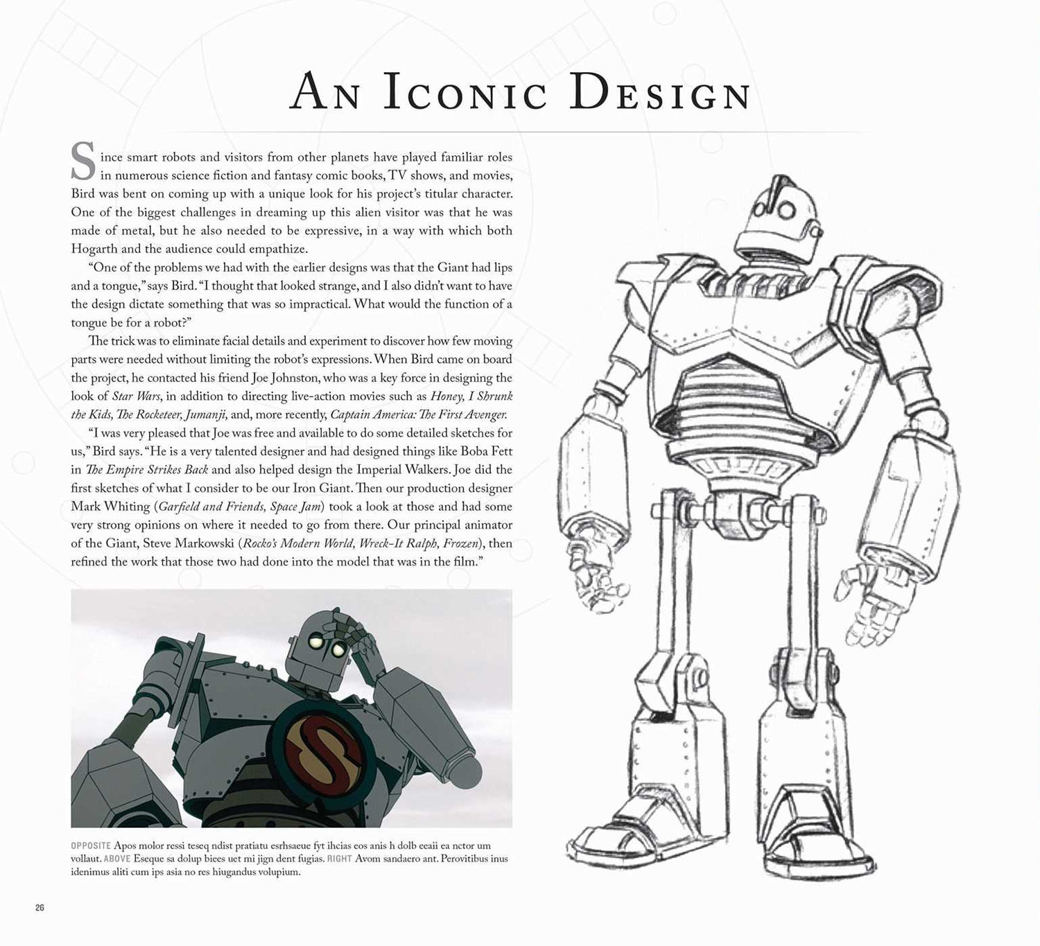 Brad Bird's 'Iron Giant' Is Getting An Art Book (Preview).