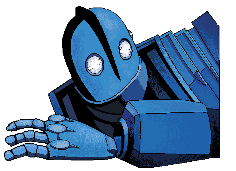 22. The Iron Giant by ConkerTSquirrel on DeviantArt.