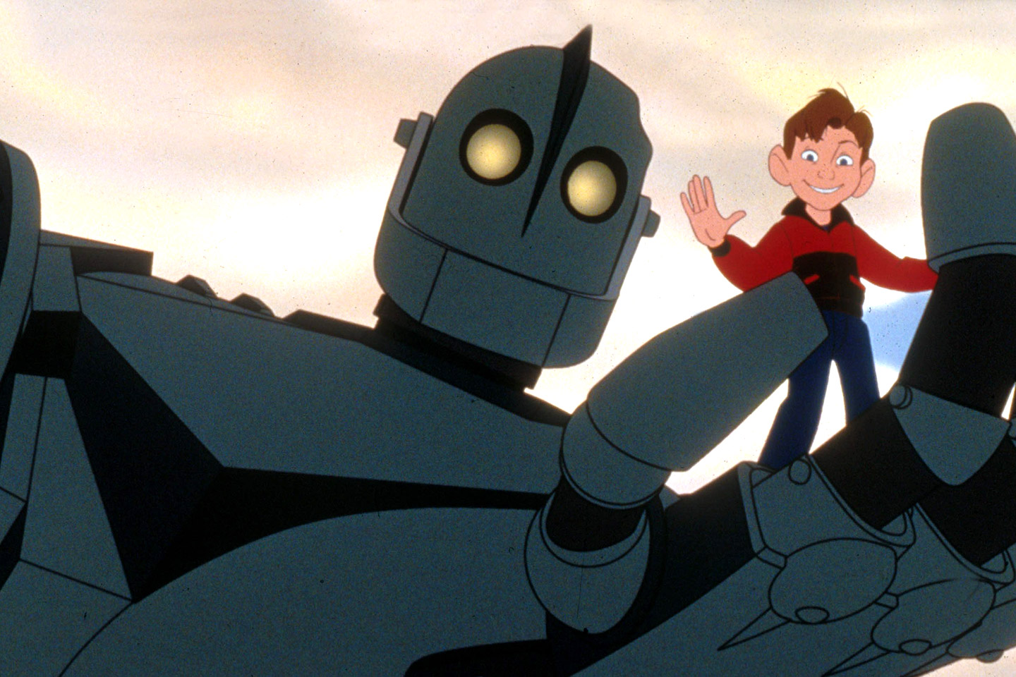 The Iron Giant back with new scenes.