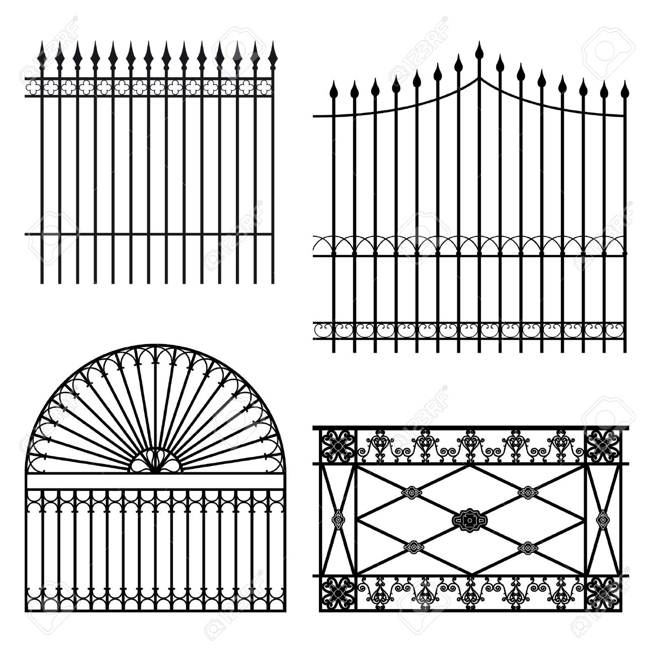 Fences Royalty Free Cliparts, Vectors, And Stock Illustration.