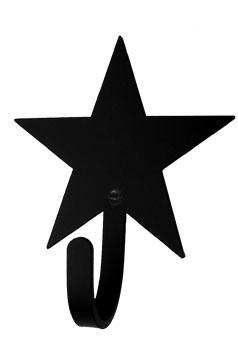 Wrought Iron Small Star Decorative Wall Hook : star wall hook.