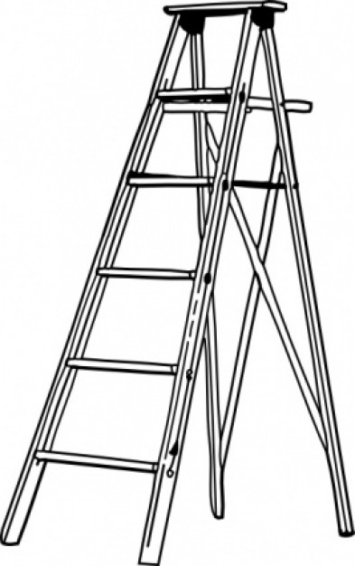 Clipart ladder.