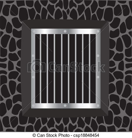 Clipart Vector of Window and lattice.