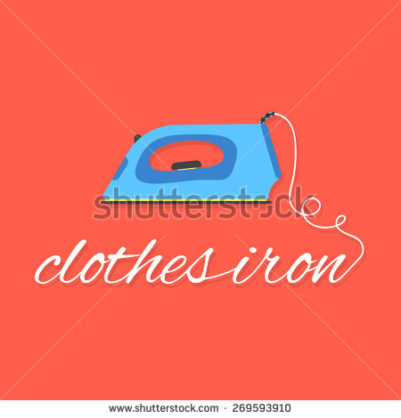 Iron And Ironing Board Stock Vectors, Images & Vector Art.