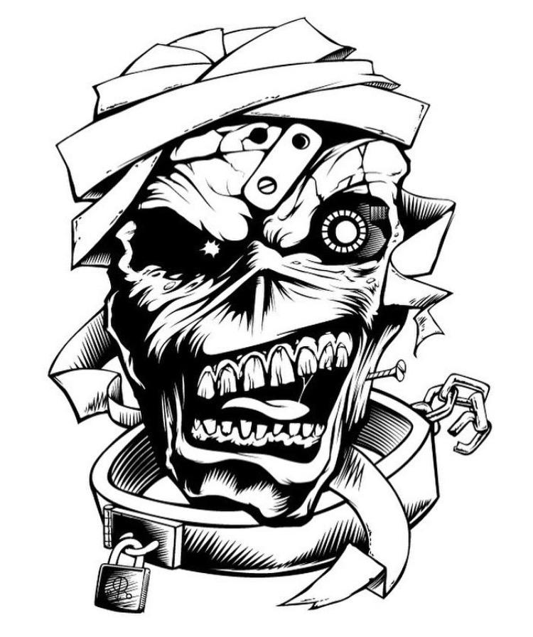 Iron Maiden Clipart.