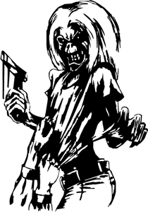 Iron Maiden Logo Vector (.EPS) Free Download.