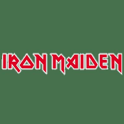 Iron Maiden Logo transparent PNG.