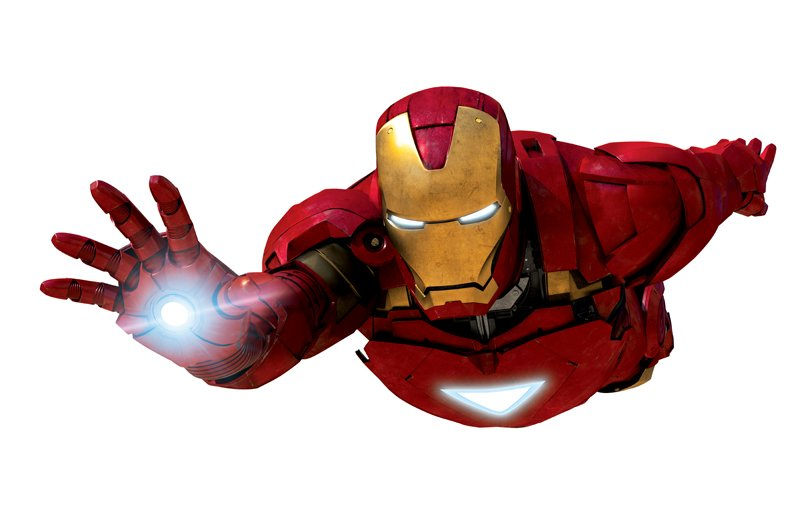 Iron Man Flying Clipart.