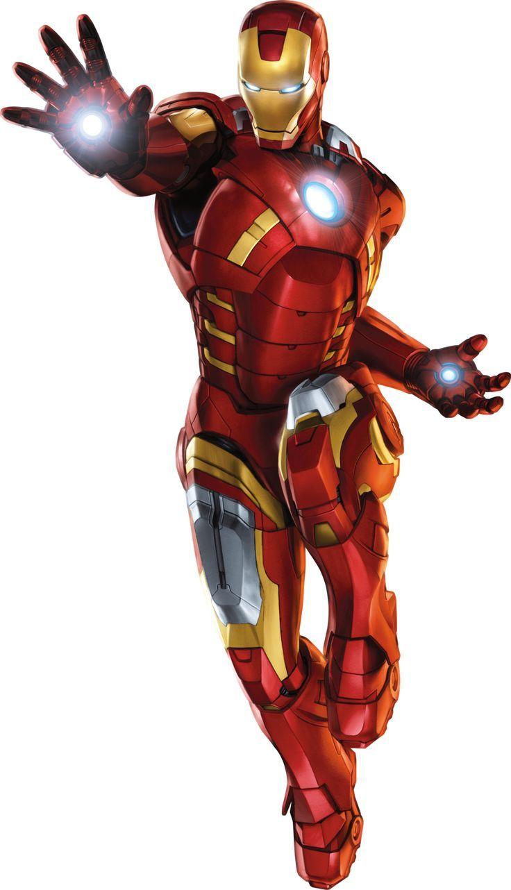 Iron man clip art.