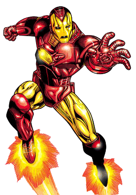 Iron Man Clipart Vector.
